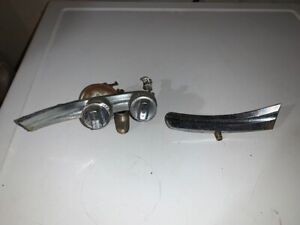 1955 Plymouth Belvedere Savoy dashboard trim with HEATER and TEMP switches