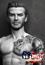 1/6 David Beckham Head Sculpt 2.0 For Phicen Hot Toys Custom Male Figure ❶USA❶