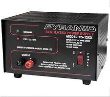 PS12KX 10-Amp 13.8-Volt Power Supply Pyramid converts 120v AC to 12v DC