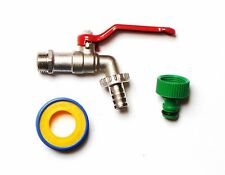1/2 Inch Lever Outside Tap With Garden Hose Fitting | Great Upgrade