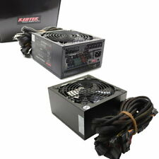 Quiet 1050 Watt 1050W Gaming PC ATX Dual 12V 140mm Fan Power Supply Quad SLI
