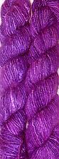 100Grams Himalaya Recycled Purple Soft Sari Silk Yarn Knitting Woven 1 Skein