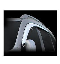 Chrome Sun Shade/Rain Guard Door/Window Vent Visor for 06-11 Chevrolet Captiva