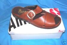 Rieker Brown Leather Sandal -SZ 37 (6 1/2 - 7) USA) NIB