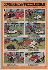 CORRIERE DEI PICCOLISSIMI inserto Corriere dei Piccoli N.21 1962 chlorophylle
