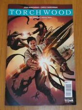 TORCHWOOD #2.4 TITAN COMICS COVER C JUNE 2017