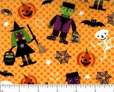 "2 yards   ""Halloween Characters"" Fabric"