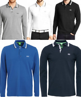 Hugo Boss Long Sleeve Polo Shirt for Men on Sale!! Sizes M L XL XXL!!!