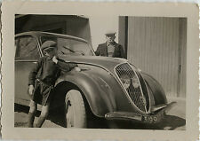 PHOTO ANCIENNE - VINTAGE SNAPSHOT - VOITURE AUTOMOBILE PEUGEOT 202 MODE - CAR