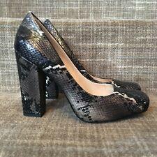 ab3ef6437a398 Women's Block Snakeskin Heels for sale | eBay