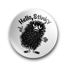 Hello Stinky The Moomins button pin badge