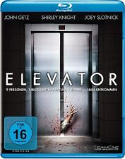 Elevator ( Thriller BLU-RAY ) mit Christopher Backus, Anita Briem, John Getz NEU