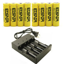 14500 3.7V 2800mAh Li-ion Lithium Rechargeable Battery Charger   USA Stock