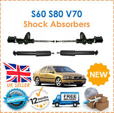 For Volvo S60 (384) S80 (184) V70 (285) Two Front & Two Rear Shock Absorbers Set
