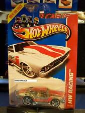 HOT WHEELS 2013 #137 -2 69 CHEVELLE CLEAR AMER 13 RACING G4 LIFE CARD