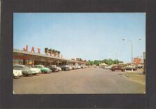 POSTCARD:  JAX MEAT SHOPPING CENTER on MAIN STREET- JACKSONVILLE, FLORIDA, 1950s