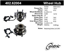 Axle Bearing and Hub Assembly-Premium Hubs Front Centric 402.62004