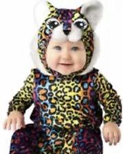 Rainbow Neon Leopard Cub Costume Jumpsuit Baby Infant 12-18 Months Dress Up
