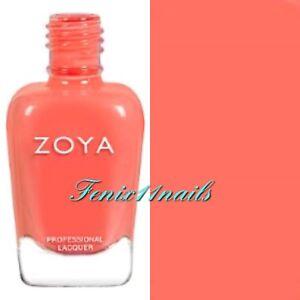 ZOYA ZP896 CORA muted coral cream nail polish ~ WANDERLUST Collection New 2017