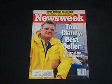 1988 AUGUST 8 NEWSWEEK MAGAZINE - TOM CLANCY, BEST SELLER - NW 397