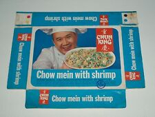 1964 Chun King Chow Mein Frozen Food Box vintage food grocery