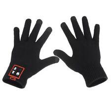 Nero Bluetooth guanti cuffia touch screen per iPhone 6 6S 5 5S 4 4S 3G 3GS