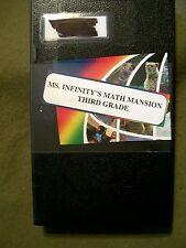 Ms. Infinity's Math Mansion Third Grade (VHS, 1997)