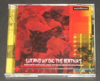 LUX AND IVY DIG THE BEATNIKS the cramps UK 2-CD new sealed EDD KOOKIE BYRNES
