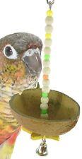 839 COCO HANGER BIRD TOY parrot cage toys conure amazon african grey cockatiel