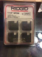 RIDGID (EMERSON) PART NUMBER 37975 DIES, 12R 1-1/4 NPSM