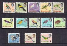 Gambia 1963 Birds SG 193-205 LMM