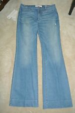 MARC by MARC JACOBS 1970s Flare Indigo Jeans High Waist Denims size 31 12 L NEW