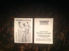 1983-84 Columbus Clippers-International League - Don Mattingly - Early RC - Rare