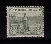 YV 150 N* , 1ere Orphelin , pas aminci Cote 40 Euros (RF056)