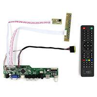TV HDMI VGA AV USB AUDIO LCD Driver Board For B156XW02 LP140WH1 1366x768 LCD