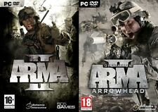 arma 2 & arma 2 operation arrowhead  new&sealed