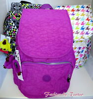 New w Tag Kipling Ravier Backpack w Furry Monkey
