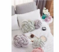 Vivid Knot Ball Decor Seat Cushion Sofa Pad Decoration