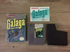 NES Galaga - Spiel mit OVP und Anleitung Nintendo - USA Version