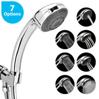 7 Function Adjustable Jetting Shower Head Anion Filter Spa Alkaline Water Head