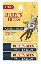Burt's Bees Vanilla Bean Moisturizing Lip Balm Twin Pack 2 x 0.15 oz Skincare