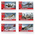 Airfix 1:72 Model Kits WW2 Aircraft Spitfire Hurricane Messerschmitt Focke Plane