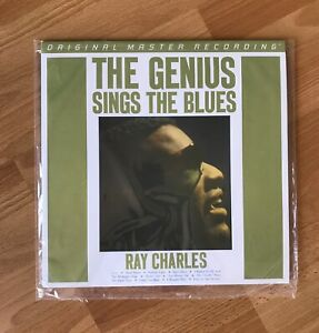 Ray Charles Genius Sings The Blues Mobile Fidelity New Sealed