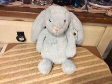"12"" JELLYCAT LITTLE BABY BLUE BUNNY RABBIT STUFFED ANIMAL PLUSH SMALL TOY LONDON"