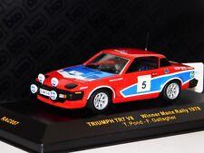 TRIUMPH TR7 V8 #5 POND / GALLAGHER WINNER MANX RALLY 1978 IXO RAC057 1/43