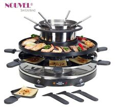 "Raclette+Fondue+Grill  "" Castello ""  3 in 1  Multifunktionsgerät  Nouvel Swiss"
