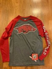 Arkansas Razorbacks Youth Logo Long Sleeve shirt