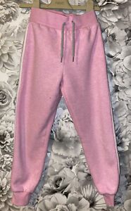 Girls Age 6-7 Years - Pink Jogging Bottoms From Matalan