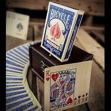 Faded Rider Back Blue-BICYCLE POKER carte da gioco