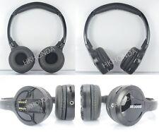 2pcs Infrared Stereo Wireless Headphones 2PCS Kids Headset IR for Car DVD Player